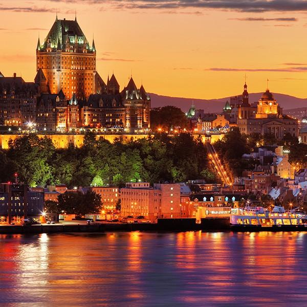 Viajar por Quebec Canadá en tren