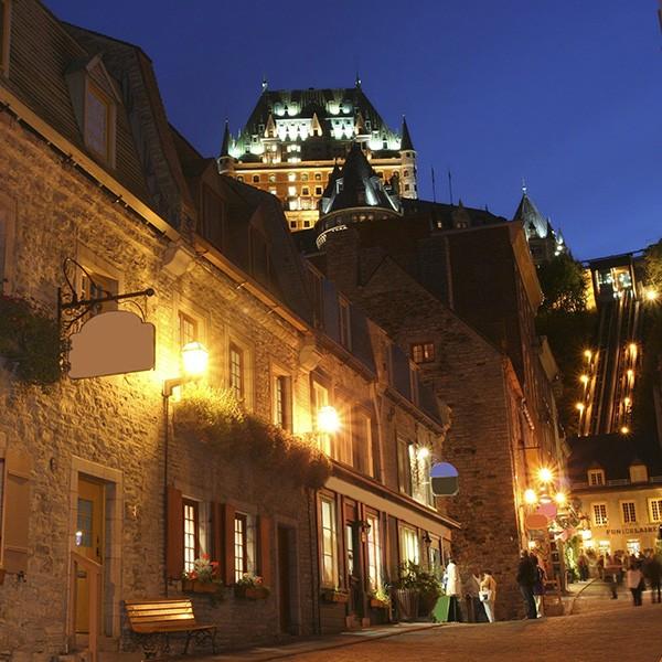 Visita de Quebec en Canadá Este