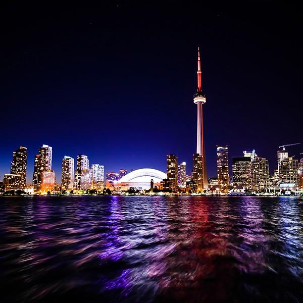 Toronto fotografía nocturna