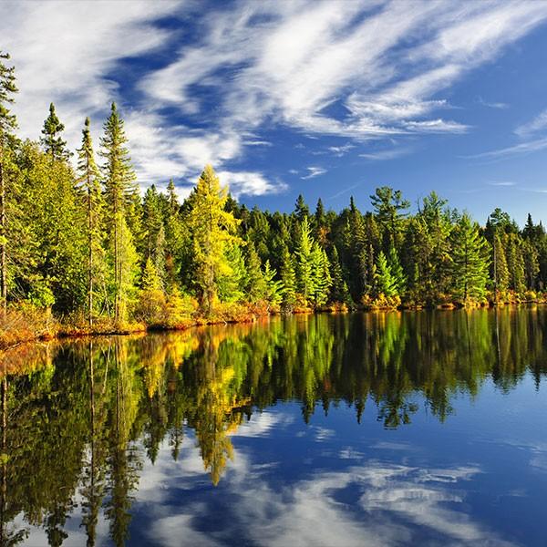 Reserva Natural Laurentides Canadá