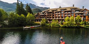 Resort de lujo Nita Lake Lodge en Whistler