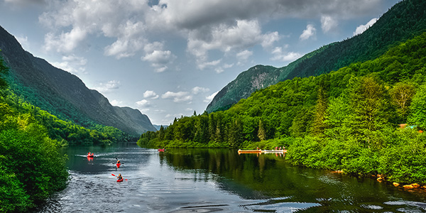 Isla de Orleans en kayak actividades aventura en Canadá