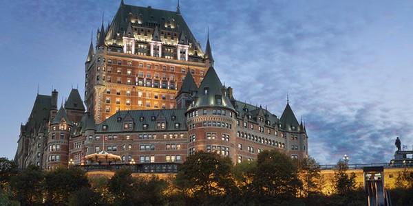Hotel Fairmont Chateau Frontenac en Quebec