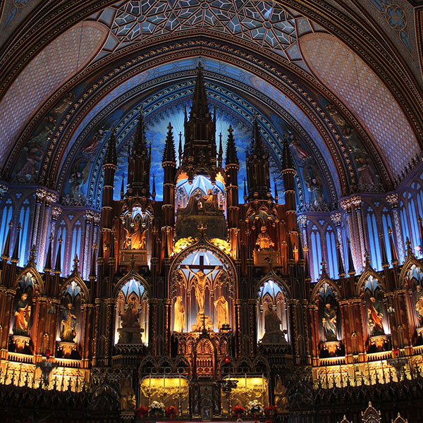 Notre Dame en Montreal