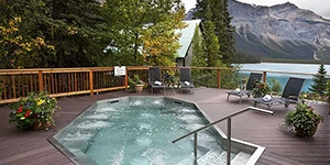 Resort en Yoho de lujo Emerald Lake Lodge