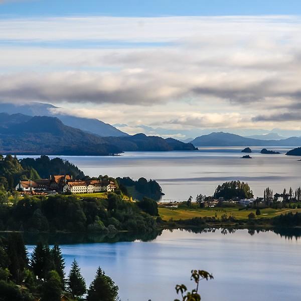 Bariloche, Argentina, lago Nahuel Huapi