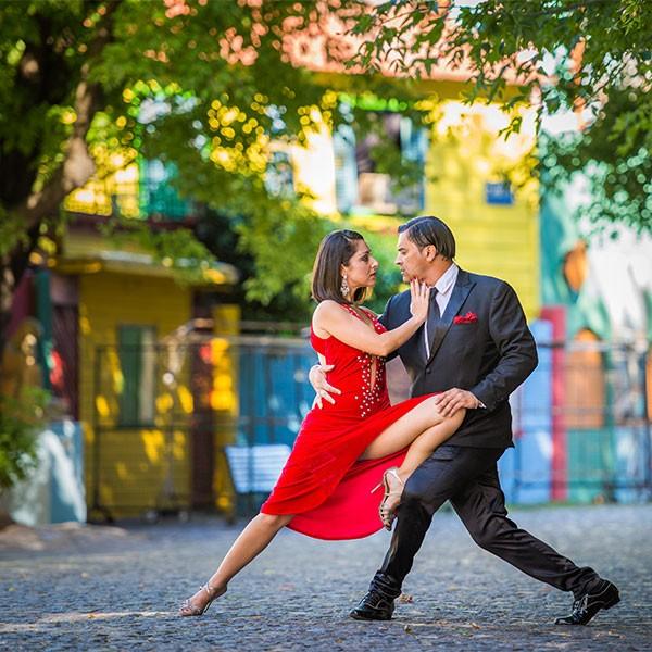 Clases de tango en viaje a La Pampa