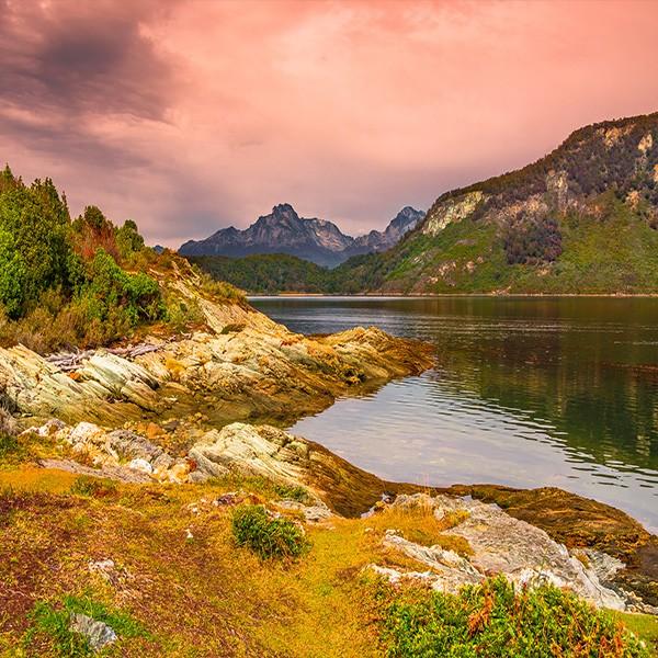 Ushuaia Tierra de Fuego en el viaje a La Patagonia