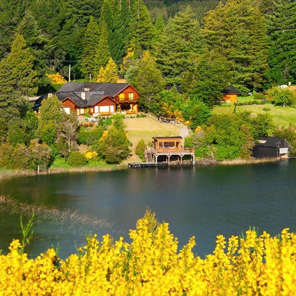 Villa La Angostura en Patagonia Argentina