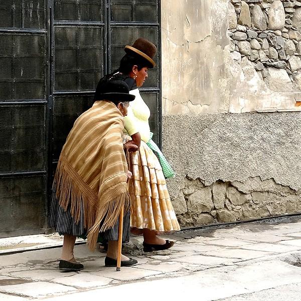 Mujeres en La Paz, Bolivia