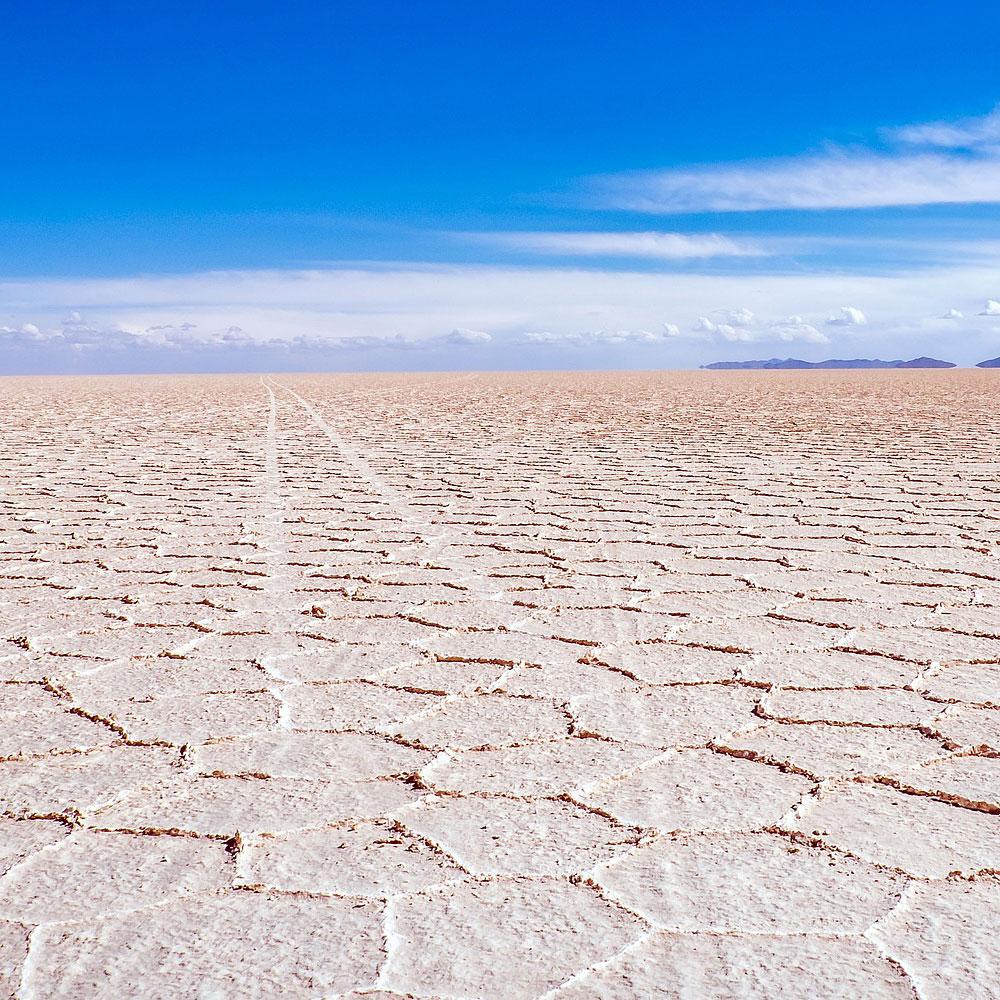Salar de Uyuni en el viaje a Chile, Bolivia y Perú