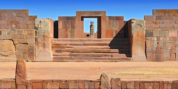 Bolivia, Templo de Kalasasaya en Tiwanaku
