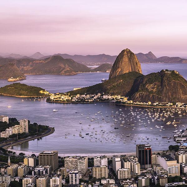 Río de Janeiro, Brasil, viaje de novios