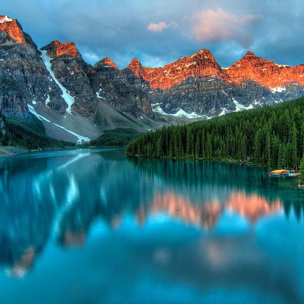 Viaje por las Rocosas Canadienses, Banff, Moraine Lake