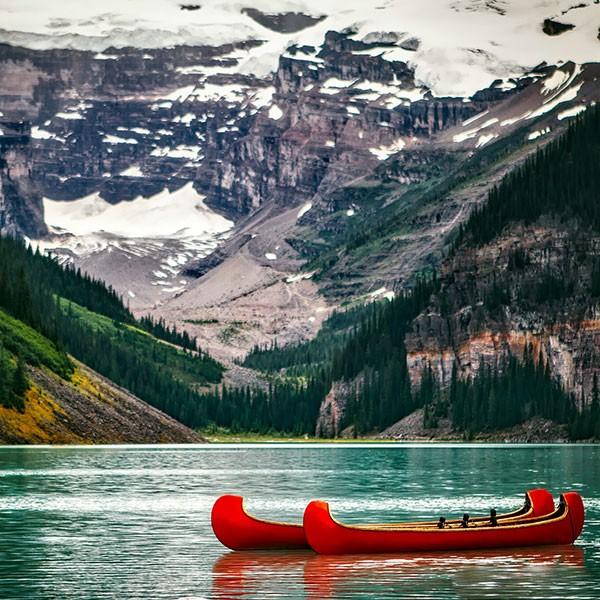Lake Louise en el Parque Nacional de Banff