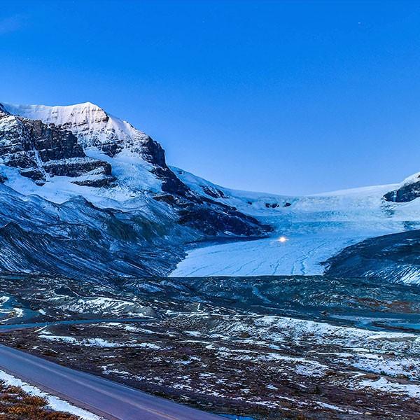 Glaciar Athabasca en Jasper, Canadá