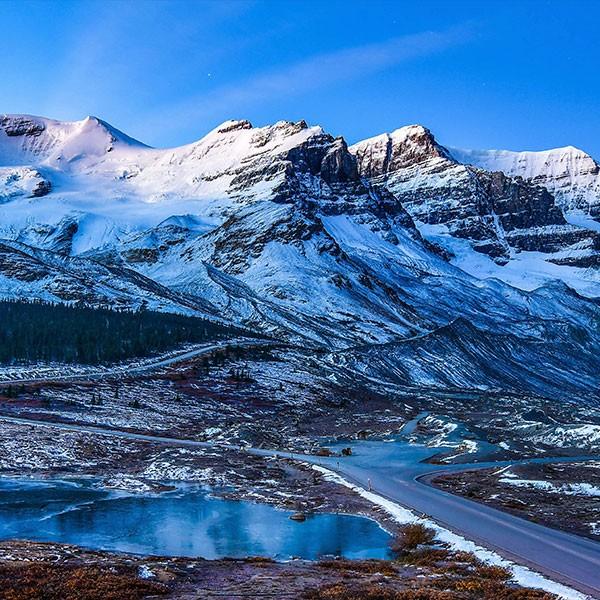 Viaje por las Montañas Rocosas Canadienses, carretera de los Glaciares en Jasper