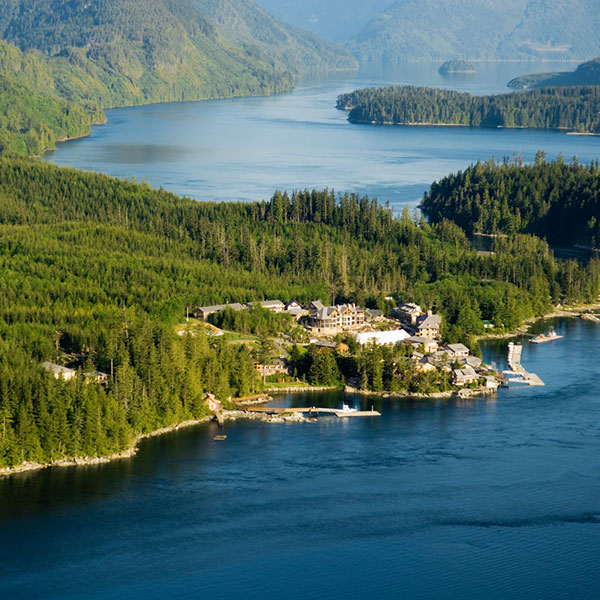 Sonora Resort en Sonora Island, Rocosas canadienses
