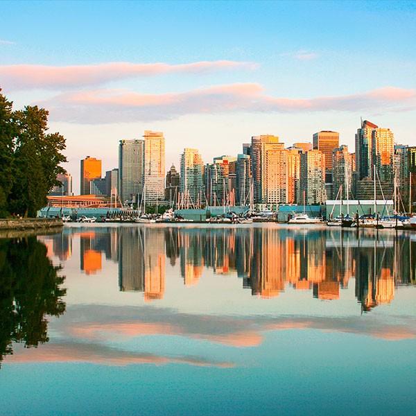 Visita a Vancouver en el viaje Canadá de costa a costa