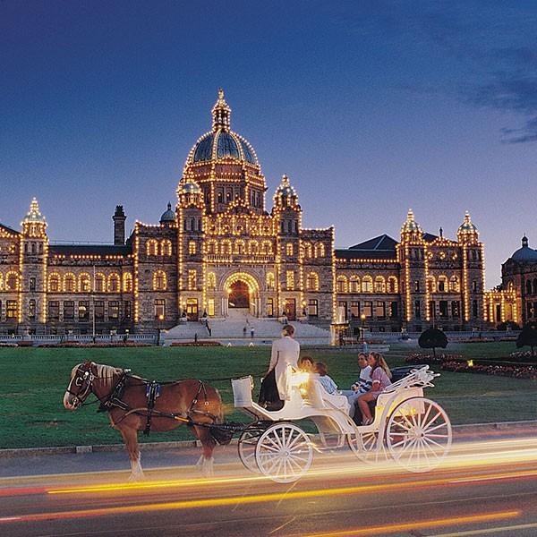 Parlamento de Victoria, British Columbia, Canadá