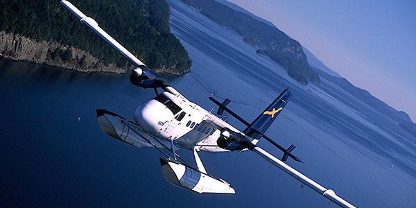 Vuelo en hidroavión desde Vancouver a Tofino en tu viaje de aventura a Canadá