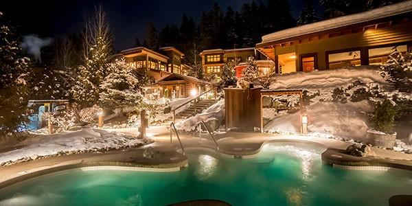Scandinave Spa en Whistler, Montañas Rocosas de Canadá