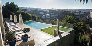 Hotel 5 estrellas lujo Casa Higueras en Valparaíso