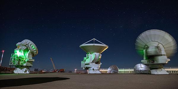Visita a ALMA, observatorio astronómico en Atacama, Chile