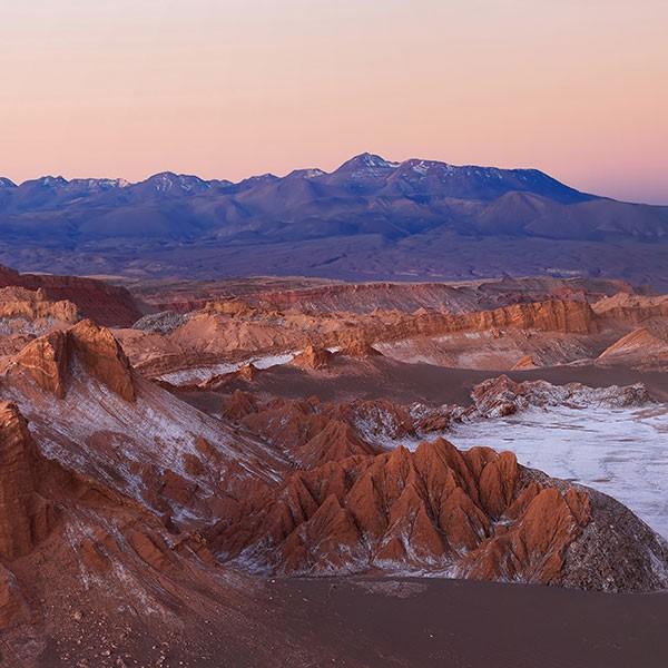 Valle de la Luna en Atacama, Chile
