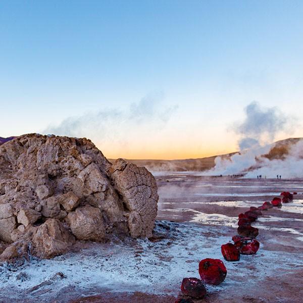 Viaje Argentina Chile Bolivia: Geiseres del Tatio en Atacama