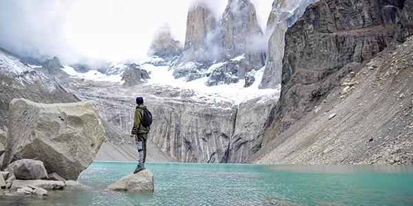 Trekking hasta el mirador Base de las Torres
