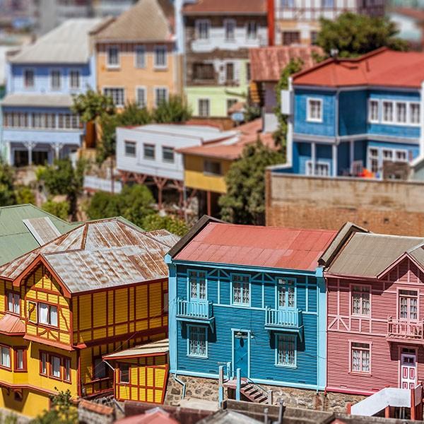 Visita a Valparaíso en en viaje a Chile con crucero por los fiordos
