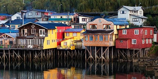 Navegación a Isla de Chiloé en viaje de aventura por Chile