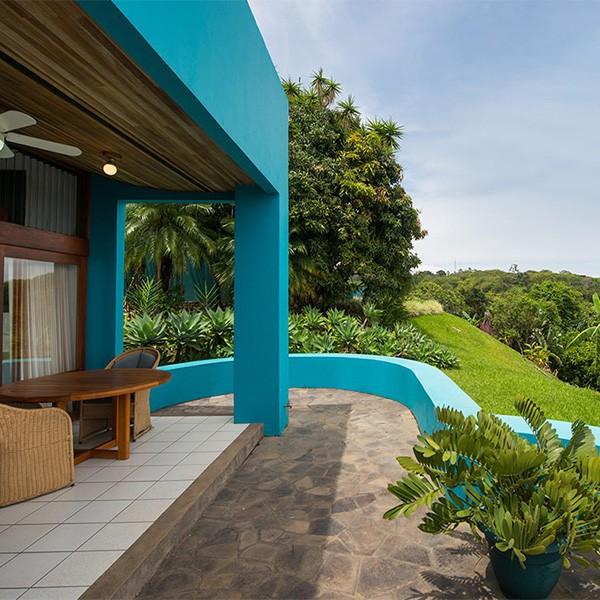 Xandari Resort en Alajuela, de camino entre Costa Rica y Panamá