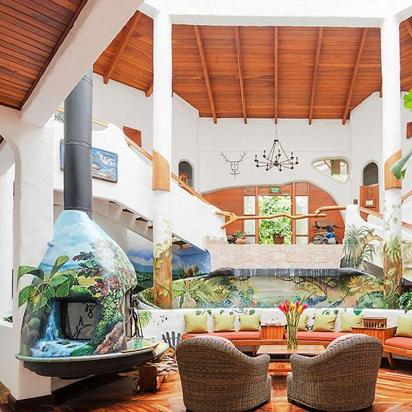 Hotel de ecoturismo en Costa Rica Finca Rosa Blanca CST