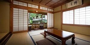 Shukubo Eko-in en el camino Kumano Kodo en Japón