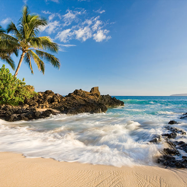 Extensión a playa de Hawai en la luna de miel en Canadá
