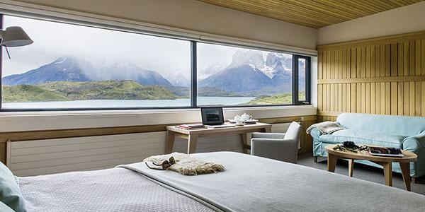 Suite Exploradores de lujo en Hotel Explora Patagonia