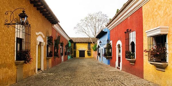 Visita a la ciudad de La Antigua en Guatemala