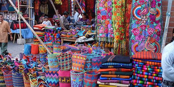 Mercado indígena de Chichicastenango, Guatemala