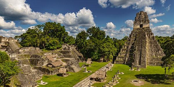 Excursión a Tikal, Guatemala en el viaje a centroamérica