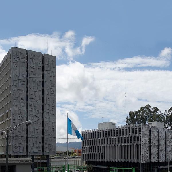 Centro Cívico en ciudad de Guatemala