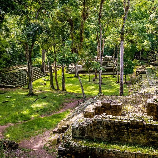 Sitio arqueológico de Copán, vestigios mayas
