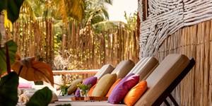 Hotel boutique en Isla de Holbox en la luna de miel en México