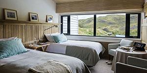 Hotel 5 estrellas lujo Explora Patagonia en Torres del Paine