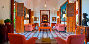 Hacienda-Hotel de lujo en México Temozón