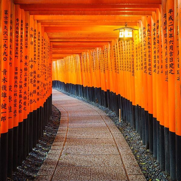 FushimiInari, Kioto, Japón