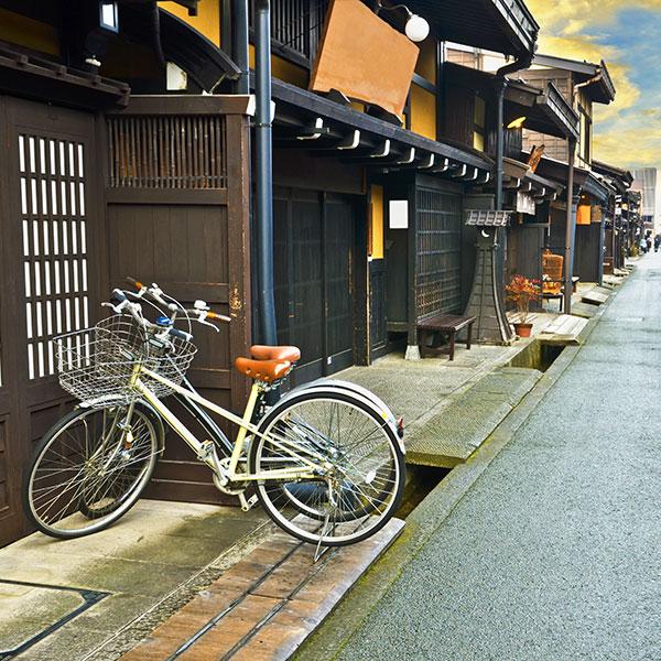 Recorrido a tu aire por el casco antiguo de Takayama en Japón