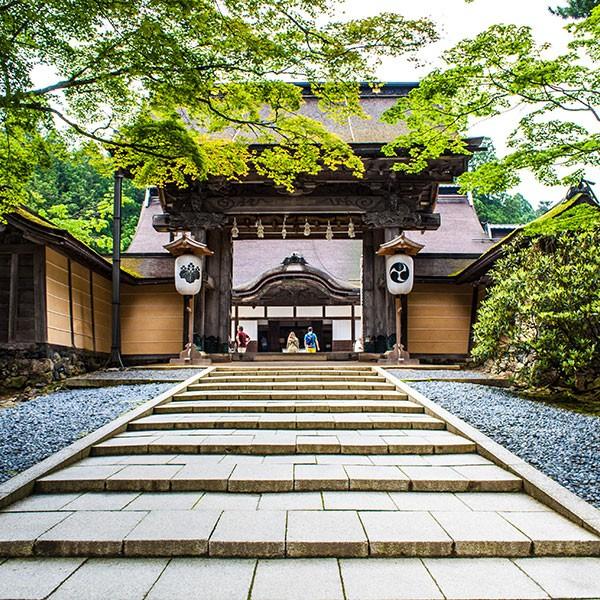 Templo budista de Shingon en Koyasan