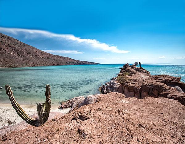 Navegación por el Mar de Cortés en velero, Baja California, México
